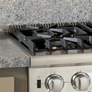 "P36CRTSS VIKING 36"" W COUNTER TOP REAR TRIM"