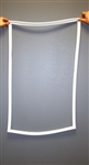 "PB070289 Freezer Door Gasket--36"" Bottom Freezer Sub From PB970134"