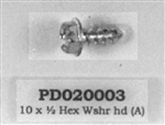 PD020003 '  #10 X 1/2 T(A) HEX WASHER HEAD Viking