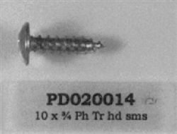 PD020014 10X3/4 Screw