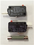 PM100075 MONITOR & SECONDARY INTERLOCK SWITCHES(2) & FUSE