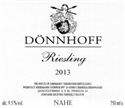 Donnhoff Estate Riesling 2019 (Nahe, Germany)