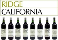 New Release Ridge Vineyards Tasting: 6 World Class Zins and the Iconic Monte Bello Bordeaux Blend