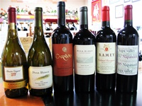 9/06/09: Wine Tasting Event @ Artisan Wine Depot - Tour of Napa Valley: BV, Pine Ridge, Darioush, Ramey, Dominus