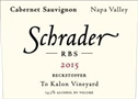 "Schrader ""RBS"" Beckstoffer To Kalon Vineyard Cabernet Sauvignon 2017 (Napa Valley, California) - [JD 94-96] [JS 94-95] [RP 92-95]"