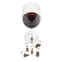Grapevine Vineyard Wine Charms by Twine (Set of 6)