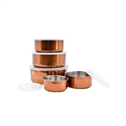 Le Regalo 10 Piece Copper Storage Bowl Set