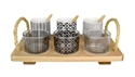 Le Regalo 10 Piece Serving Tray Set