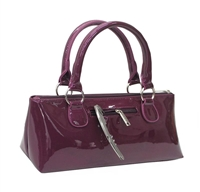 Primeware Insulated 1-Bottle Wine Clutch Purse (Purple Candy)