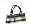 Primeware Insulated Wine Clutch Purse (Striped)