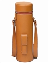 "Primeware ""Enclave"" Brown Leather Magnum-Bottle Wine Tote"