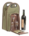 "Primeware ""Symphony"" Black Insulated Wine & Accessory Tote"