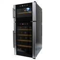 21 Bottle Dual Zone Wine Cooler - PIT-21CD