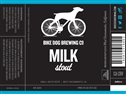 Bike Dog Brewing Milk Stout (22oz.)