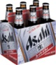 Asahi Super Dry Rice Lager 5.0% ABV (Japan) [12oz 6-PACK]
