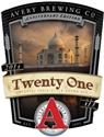"Avery ""Twenty One"" Imperial India Style Brown Ale (22 oz)"