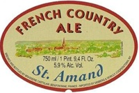 Brasserie Castelain St. Amand French Country Ale (750 ml)