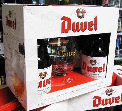 c0a18b1ad31017 Duvel Glasspack Gift Set (4 Bottles of 11.2 oz Duvel Golden Ales