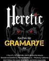 "Heretic Brewing Company ""Gramarye"" Rye Pale Ale (22 oz)"