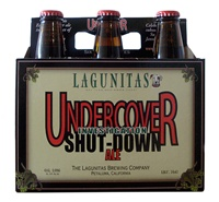 "Lagunitas Brewing Company ""Undercover Investigation Shut-Down Ale"" [9.75% ABV] (12 oz 6-PACK)"