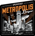 "Speakeasy ""Metropolis"" Lager (12 oz 6-PACK)"