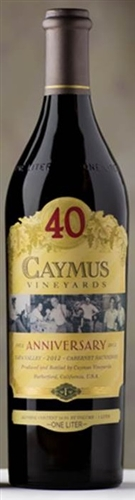 Caymus Cabernet Sauvignon 2012 [3 LITER] (Napa Valley, California) -  [PRE-ARRIVAL] - [RP 96]