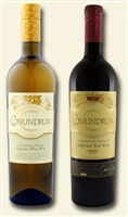 [TWO-PACK COMBO] Caymus Conundrum White and Red Blend (California)
