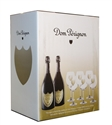 "Moet Chandon ""Dom Perignon"" 2009 [2 BOTTLES + 6 GLASSES SET] (Champagne, France) - [WS 96] [AG 94+]"