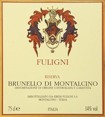 Fuligni Brunello Di Montalcino Riserva 2010 DOCG Tuscany Italy