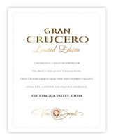 Gran Crucero Limited Edition 2006 (Colchagua Valley, Chile) - Stephen Tanzer [90]