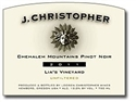 "J. Christopher ""Lumiere"" Pinot Noir 2014 (Eola-Amity Hills, Oregon) - [WE 92] [AG 92]"