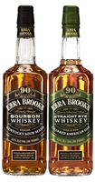Ezra Brooks Two-Pack Set Straight Bourbon Whiskey & Straight Rye Whiskey (2 x 750ml)