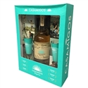 Casamigos Reposado Tequila (750ml) Gift Set with Two Shot Glasses