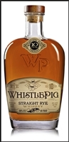 WhistlePig Straight Rye 10 Years Old Whiskey 100