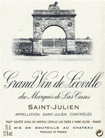 Chateau Leoville Las Cases Saint-Julien Grand Cru 1998 (Bordeaux, France)