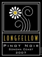 "Longfellow Pinot Noir Sonoma Coast ""Griffin's Lair Vineyard"" 2008 (Sonoma Coast, California) - Wine Enthusiast [90]"