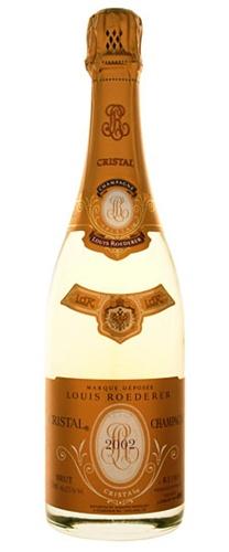 louis roederer cristal 2002 6 0 l imperial champagne france w s 100 we 98 rp 96. Black Bedroom Furniture Sets. Home Design Ideas