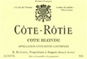 "Rene Rostaing Cote Rotie ""Cote Blonde"" 2017 (Northern Rhone, France) - [RP 98] [JD 98] [AG 94-96]"