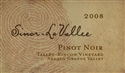 Sinor-LaVallee Pinot Noir Talley Rincon Vineyard 2011 (San Luis Obispo County, California)