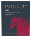 "Tamber Bey ""Rabicano"" Bordeaux Blend 2017 (Yountville, Napa Valley, California) - [JS 93]"