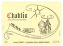 Domaine Laurent Tribut Chablis 2018 (Burgundy, France) - [BH 88-91] [RP 88-91]
