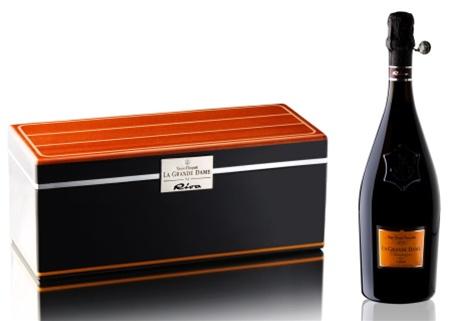 Veuve Clicquot La Grande Dame Riva Gift Box 1998 (Champagne, France) - Wine