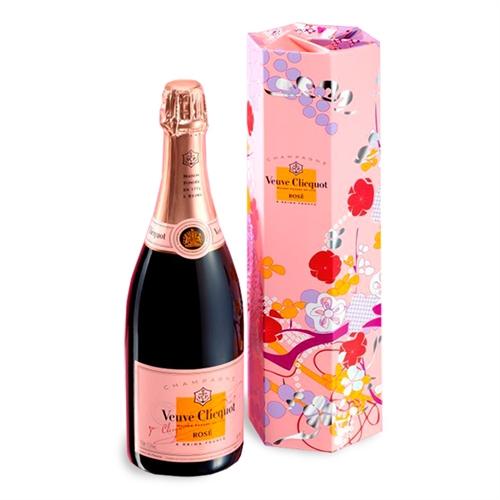 Veuve Clicquot Rose N.V. [SHAKKEI GIFT BOX] (Champagne, France) - [WE 91] [W&S 91] [WS 90] [WN ...