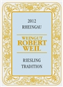 "Weingut Robert Weil Riesling ""Tradition"" 2016 (Rheingau, Germany) - [RP 91] [WE 91]"