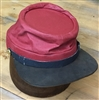 Painted Cloth Artillery Kepi