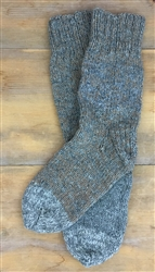 Hand-Knit Wool Socks
