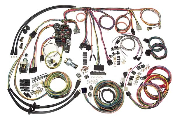American Autowire Complete Wiring Harness 1957 Chevy