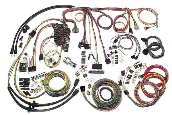 american autowire complete wiring harness 1957 chevy rh woodyshotrodz com