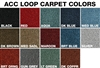 Auto Custom Carpets 1955-57 Chevy Wagon & Nomad 5-pc Rear Cargo Carpet (OS) (TF)