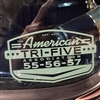 American Tri-Five Association Clear Reverse Decal
